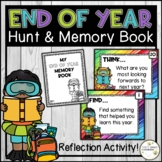 End of Year Scavenger Hunt and Memory Book - End of Year R
