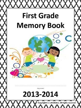 End of Year School Memories- Memory Book