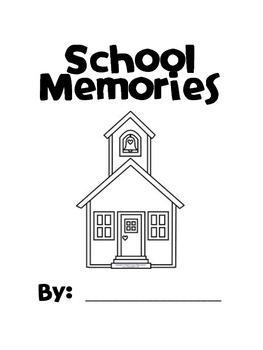 End of Year School Memory Book