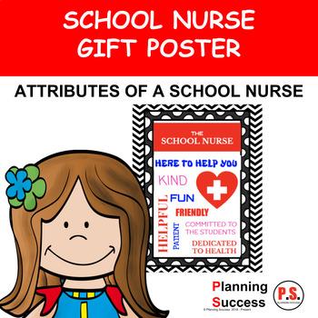 School Nurse Appreciation Poster