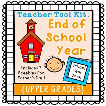 End of Year activities {upper grades}