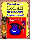 End of Year Science Kool-Aid Rock Candy Experiment!