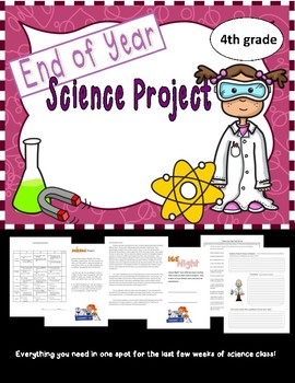 End of Year Science Project (4th grade) Next Gen.