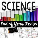 Science End of Year Review Pack