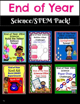 End of Year Science STEM Pack!