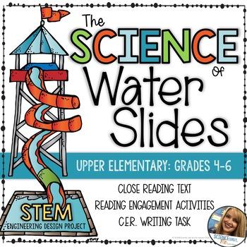 Back to School - Science of Water Slides - STEM Challenge & Unit - Teambuilding