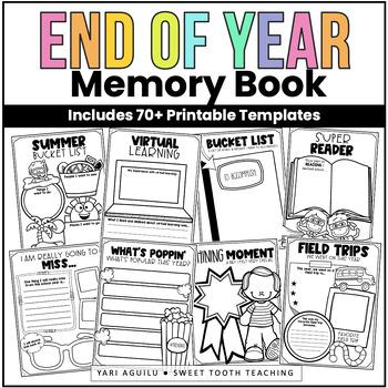 End of Year Scrapbook/Memory Book