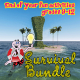 End of Year Secondary ELA Bundle: TWO WEEKS of fun! -30%