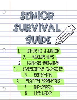 End of Year Senior Survival Guide