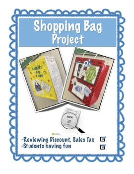 Shopping Bag Project - EDITABLE