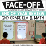 End of Year 2nd Grade ELA and Math (PowerPoint Game)