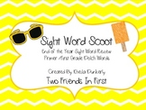 End of Year Sight Word Scoot