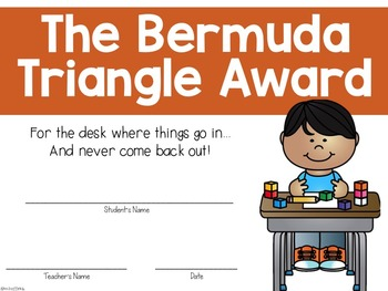 End of Year Silly Awards!