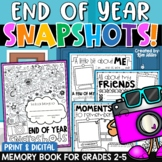 End of the Year Memory Book Distance Learning | Print and Digital Included!