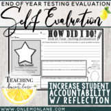 End of Year Standardized Testing Student Rate Sheet {Common Core}