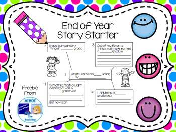 End of Year Story Starter