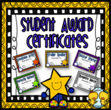Student Award Certificates #1 (Editable)