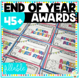 End of Year Awards Customizable