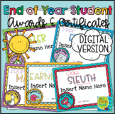 End of Year Student Awards 2 | Digital Learning | Distance