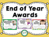 End of Year Student Awards {Certificates}