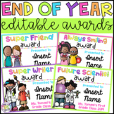 End of Year Student Awards: Editable