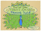 End-of-Year Student Awards: Peacock Style!