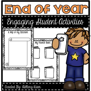 End of Year Student Activities!