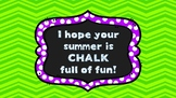 End-of-Year Student Gift Tags-Chalk