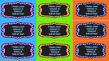 End-of-Year Student Gift Tags-FOUR PACK