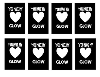 End of Year Student Gift Tags (Glow stick)