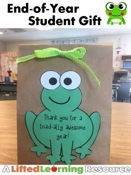 End-of-Year Gift for Students from Teacher
