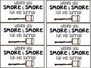 End of Year Student Gift of S'mores