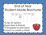 End of Year Student Made Brochures (Freebie)