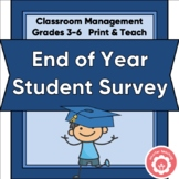 End-Of-Year Student Survey Grades 3-6