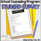 FREEBIE End of Year Student Survey - School Counseling Program