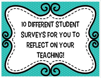 End of the Year Writing Student Surveys, Reflections, and Feedback