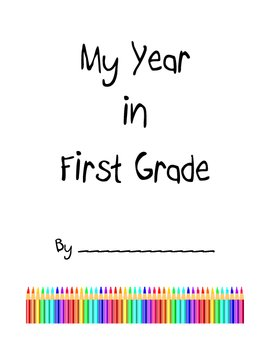 End of Year Student Yearbook or Memory Book
