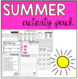 End of Year Summer Activity Pack