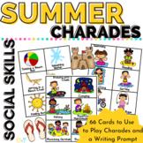 Summer Charades Brain Breaks or a Fun Game Dollar Deal