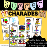Summer Charades Game or Brain Breaks