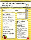 End of Year Summer Countdown Booklet