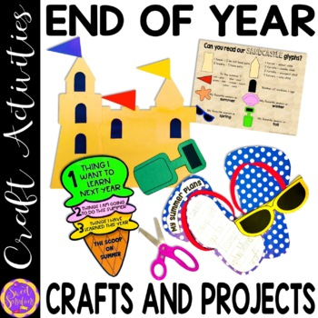 End of Year Summer Crafts and Activities