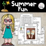 End of Year Summer Fun| Activities & Craft⭐️