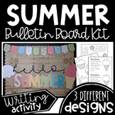 End of Year/Summer Ice Cream Bulletin Board or Door Decor Kit