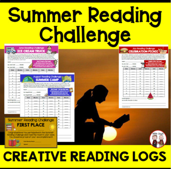 End of the Year Summer Reading Logs