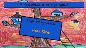 Back to School -  Tree House Art Project, Art History, Paul Klee