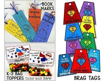 Superhero Gifts For Volunteers, Students & Staff - Back to School & End of Year