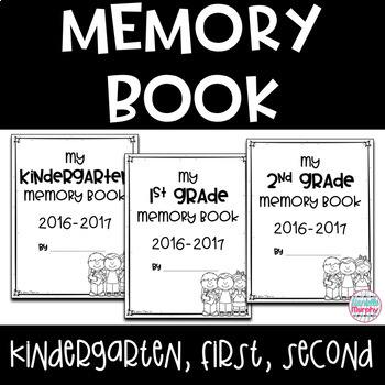 End of Year Bundle for Kindergarten First Second Grade