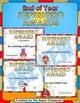 End of Year - Superhero Awards  - Bilingual