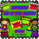 End of Year Superhero Awards